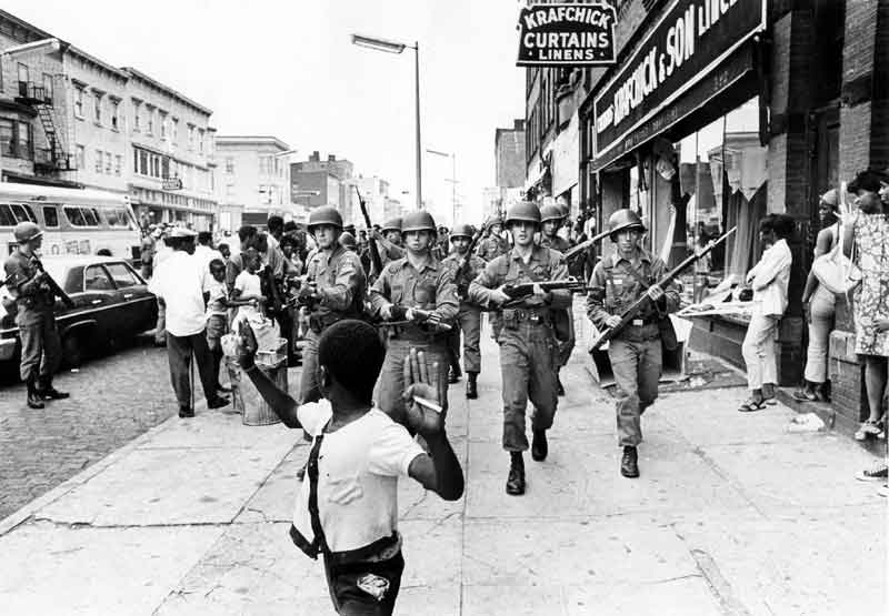 National Guard in Louisville's racial riots