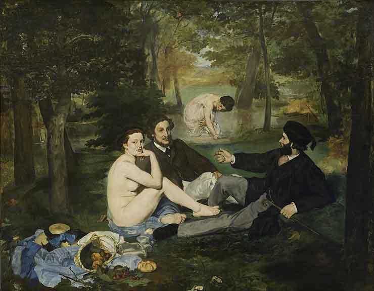 Le déjeuner sur l'herbe, Édouard Manet, 1863