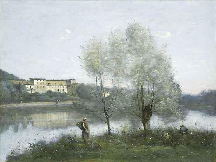 Ville d'Avray, Jean-Baptiste-Camille Corot, 1867