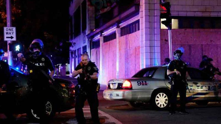 Violencia por la muerte de Breonna Davis-Louisville