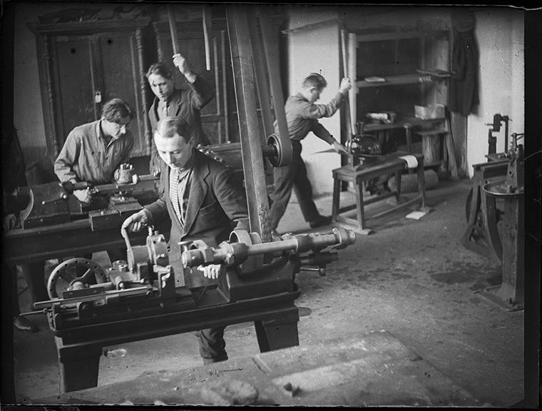 Rodchenko - en los laboratorios vkhutemas