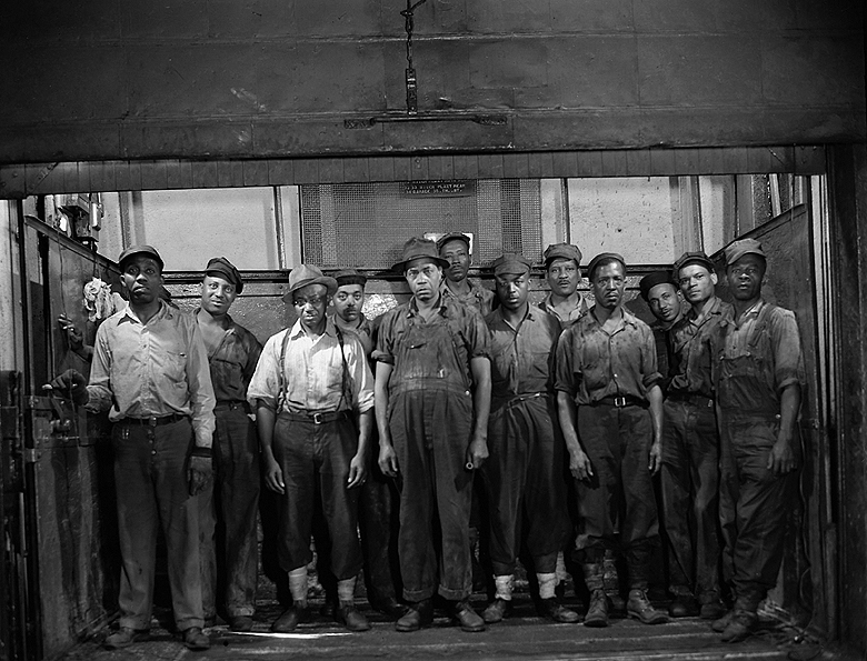 Grease Plant Workers, Pittsburgh, Pennsylvania, 1946-Gordon Parks