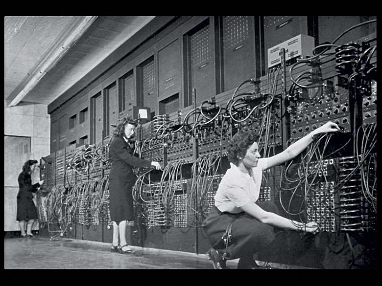 Las seis programadoras del primer ordenador ENIAC-1946