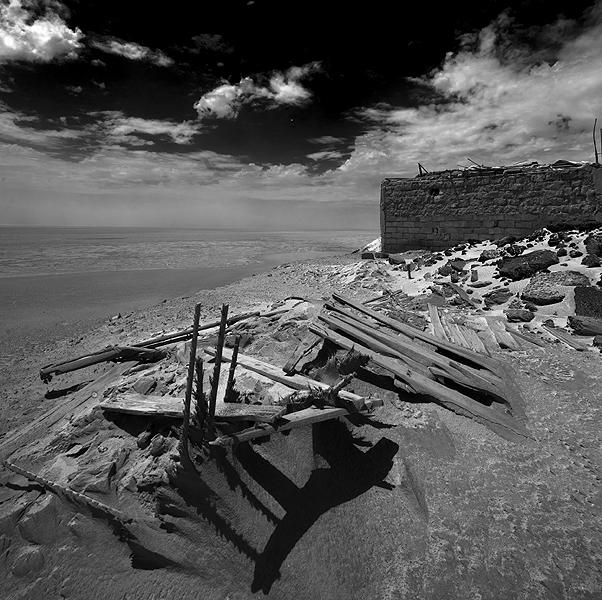 Enric de Santos. CHOTT EL DJERID. Lago salado, Tunez